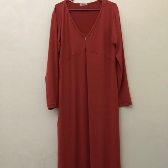 Dress panjang Gamis