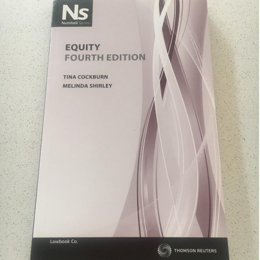 Nutshell: Equity by Melinda Shirley, Tina Cockburn (Paperback, 2011) 4th Ed