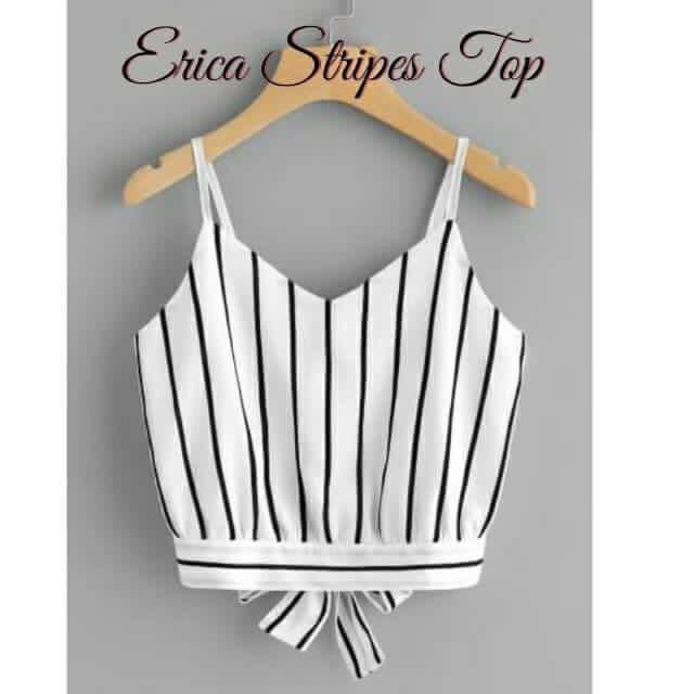 Erica Stripes Top