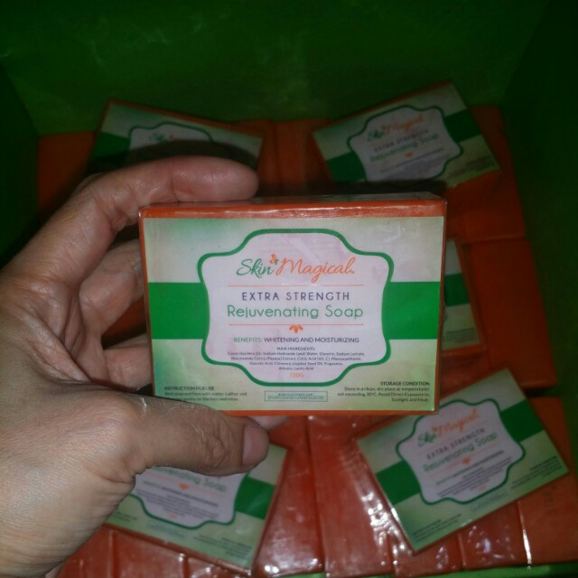 Extra strength rejuvenating soap