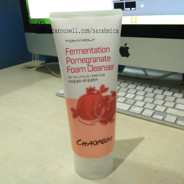 Fermentation Pomegranate foam cleanser