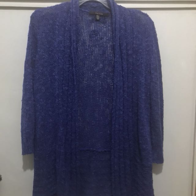 Fever purple cardigan small