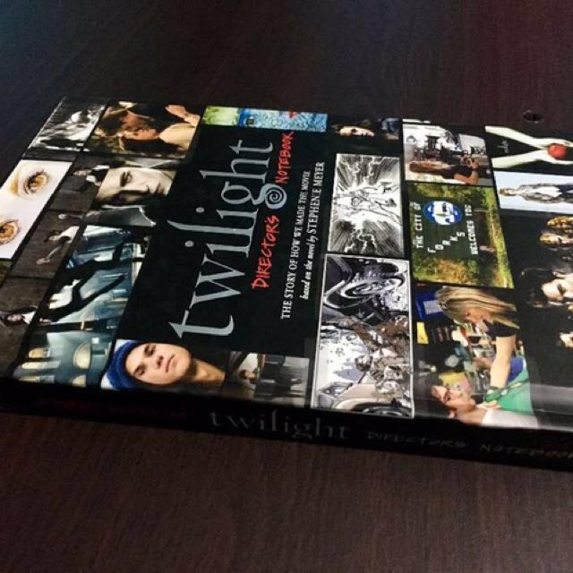 FIRST PRINTING and FIRST EDITION of Twilight Director's Notebook