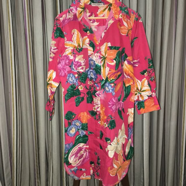Flora Shirt Dress