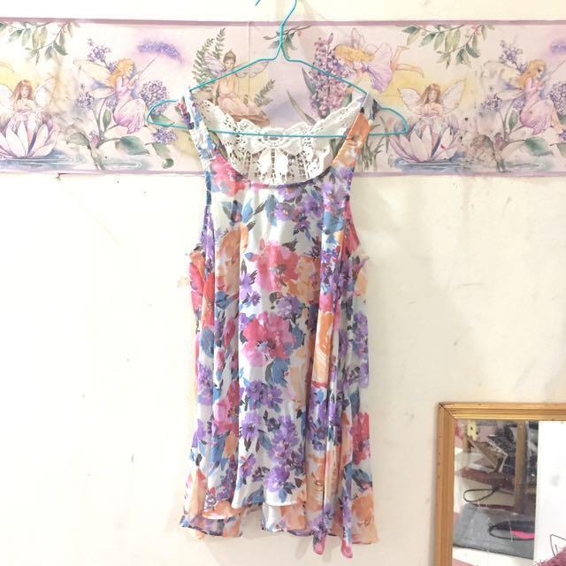 Flower Minidress