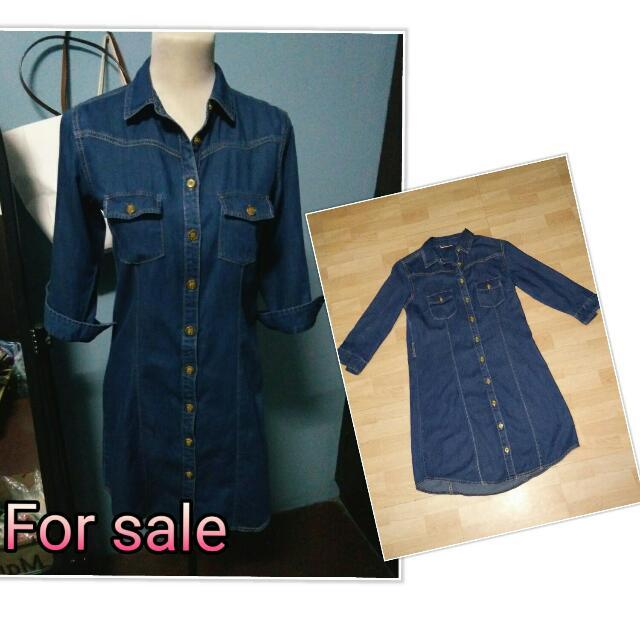 For sale: Imported Denim Dress