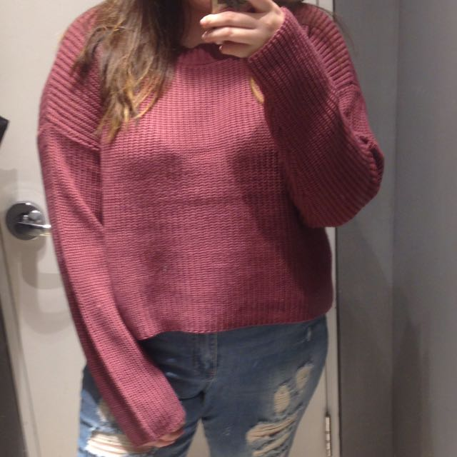 Forever 21 plus sized sweater