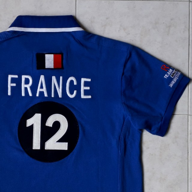 France Ralph Lauren Racing polo tee (No.12)