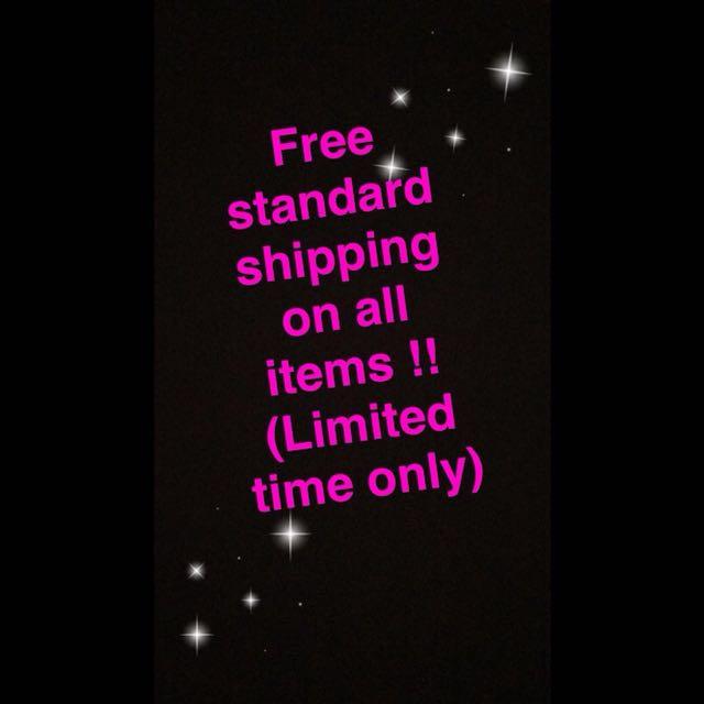 Free Standard Shipping !!