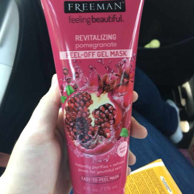 FREEMAN MASK POMEGRANATE