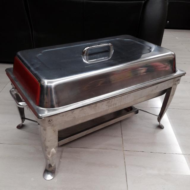 Full Sized Chafing Dish With Foldable Stand