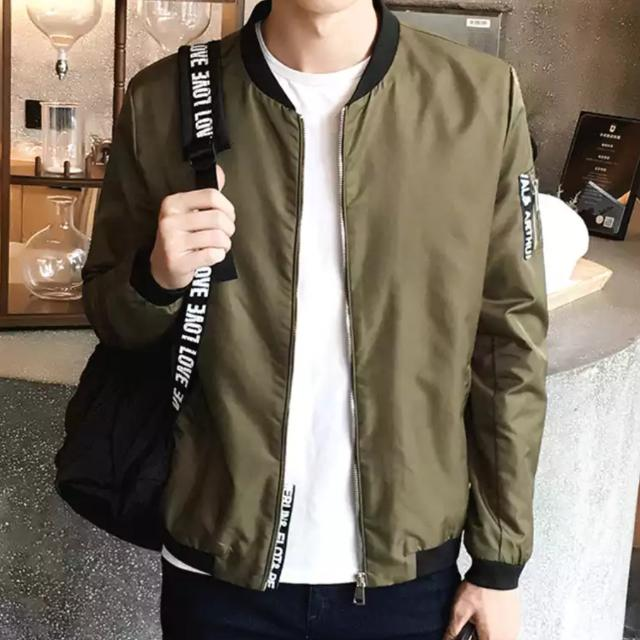 Gentlemen Bomber Jacket Flight Suit Swag Cool Fashion Security Jackets Cold resistant Polyester Bombers
