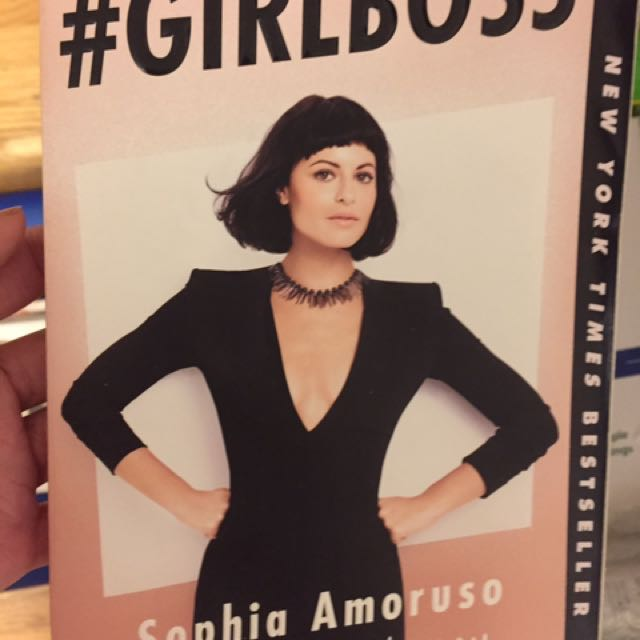 Girl boss book by Sophia amoruso