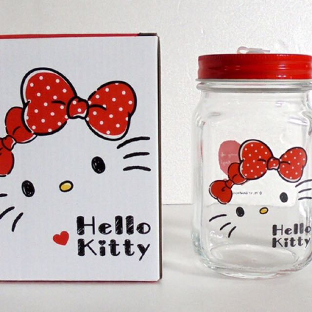 Hello Kitty玻璃杯