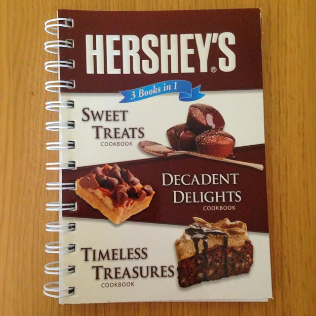 NEW Hershey's 3 in 1 Cookbook