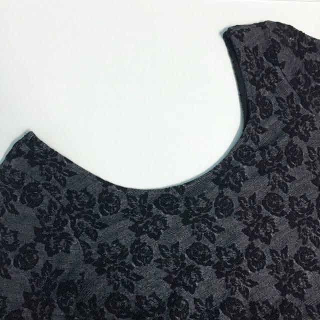 H&M Floral Skater Dress