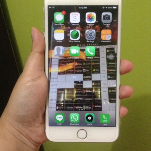 Iphone 6+ grey 16gb