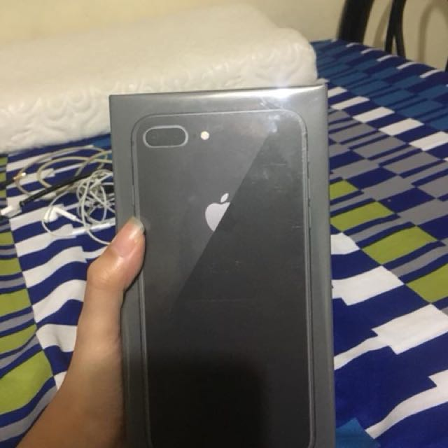 IPHONE 8 PLUS 256 GB BRAND-NEW