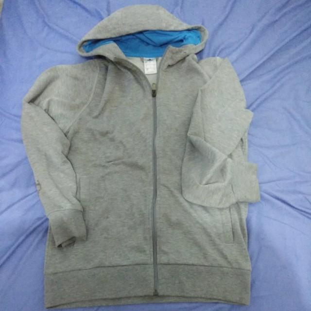 Jaket Adidas Abu / Grey Jacket