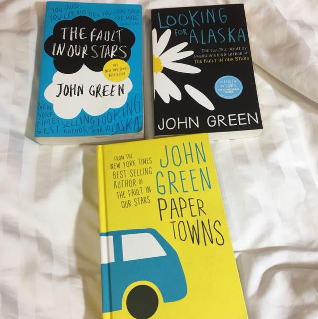 John Green Books!!