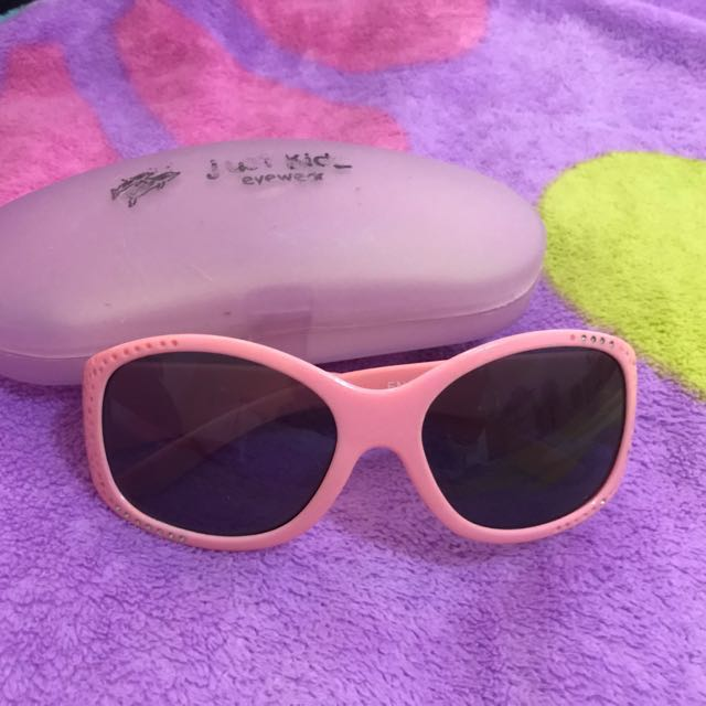 Just Kids Pink Sunglasses