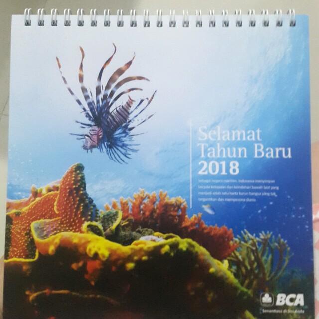 Kalender meja 2018