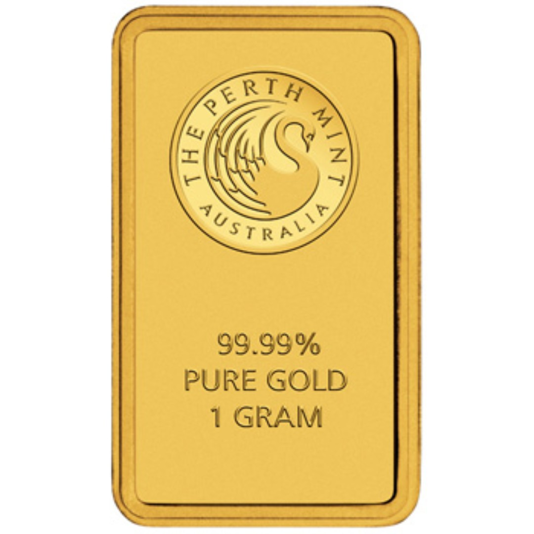 Kangaroo Minted 1g Gold Bar