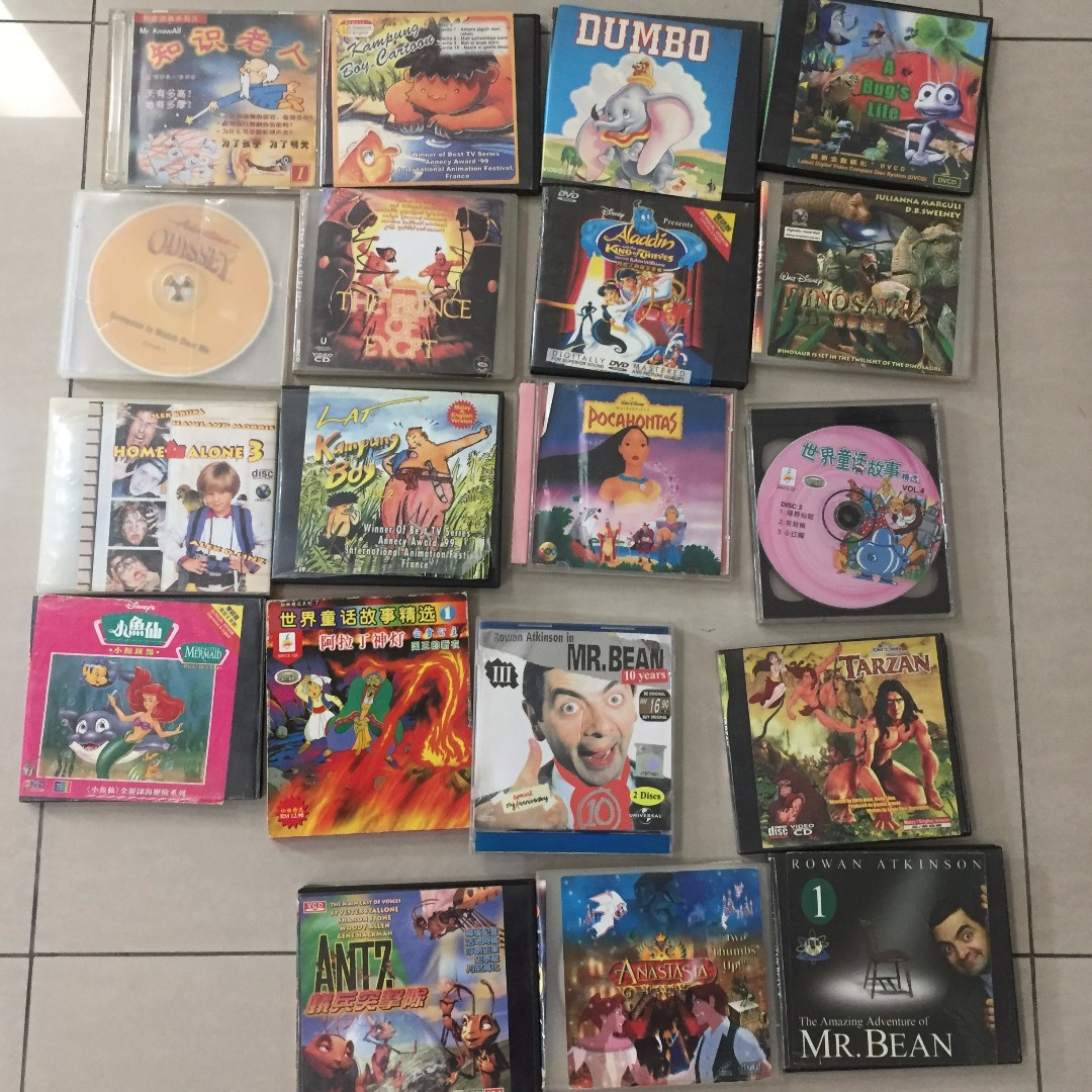 Kids CDs TAKE ALL FOR RM10