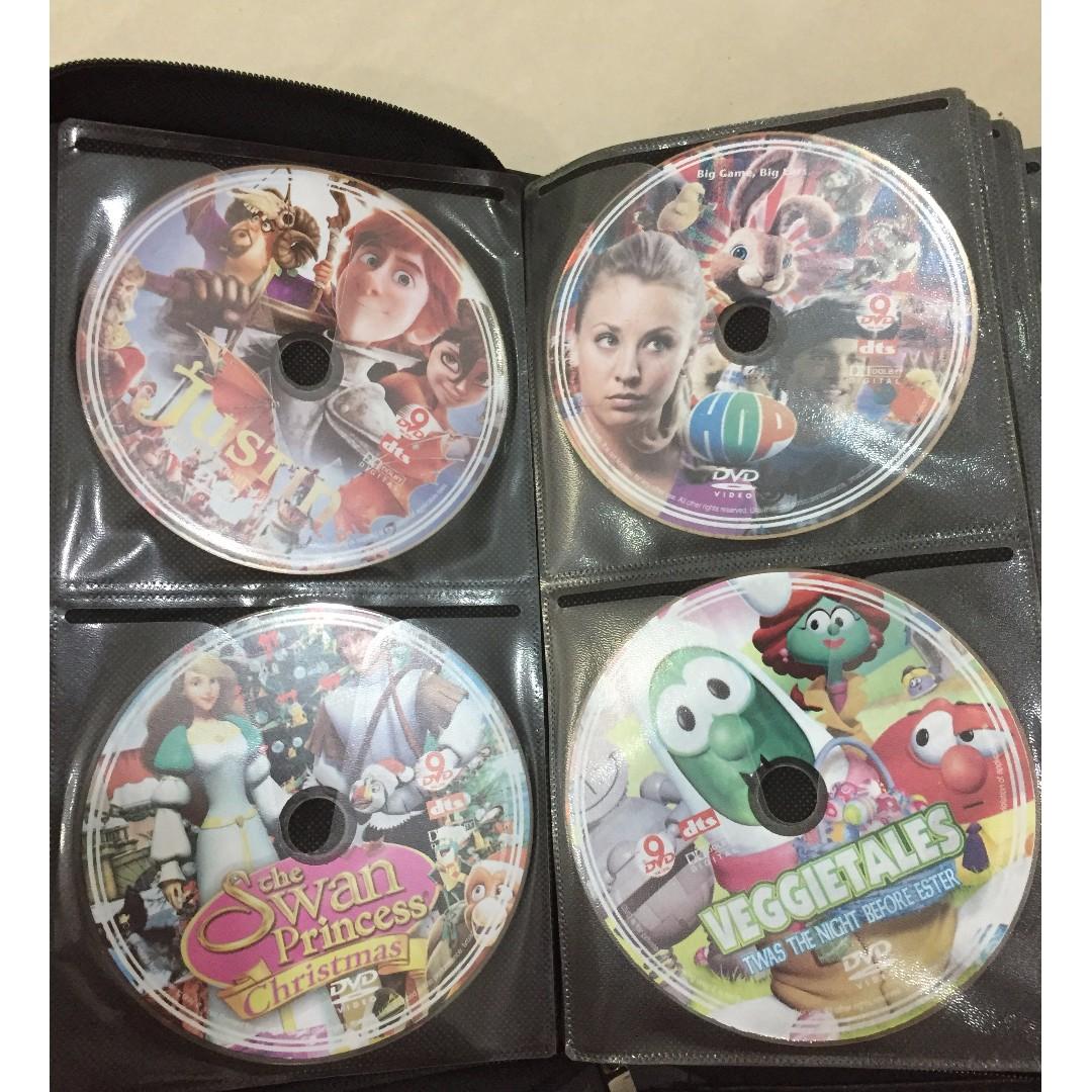 Kids Movie Pack including 72 DVDs + FREE 50 kids DVDs