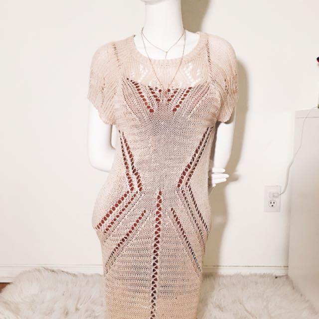 Knitted T-Shirt Dress