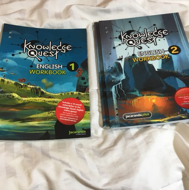 Knowledge Quest English Workbooks