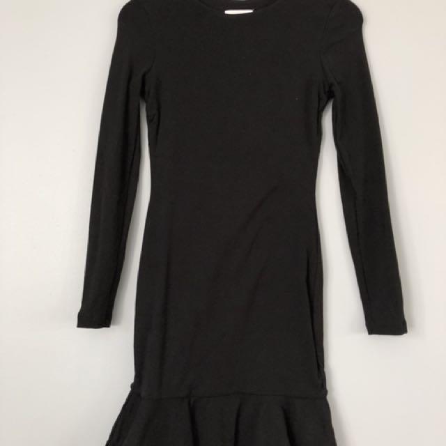 Kookai dress with frill