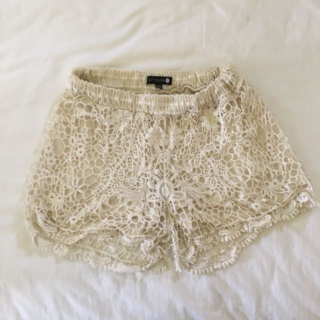 Lace Summer Shorts