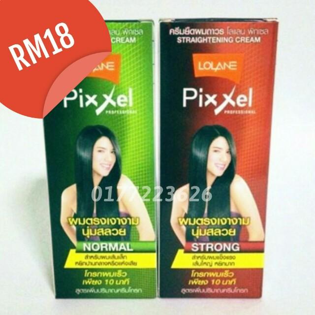 Lalonel Pixxel Normal/ Pixxel Strong Hair Straightener (Krim Pelurus Rambut)