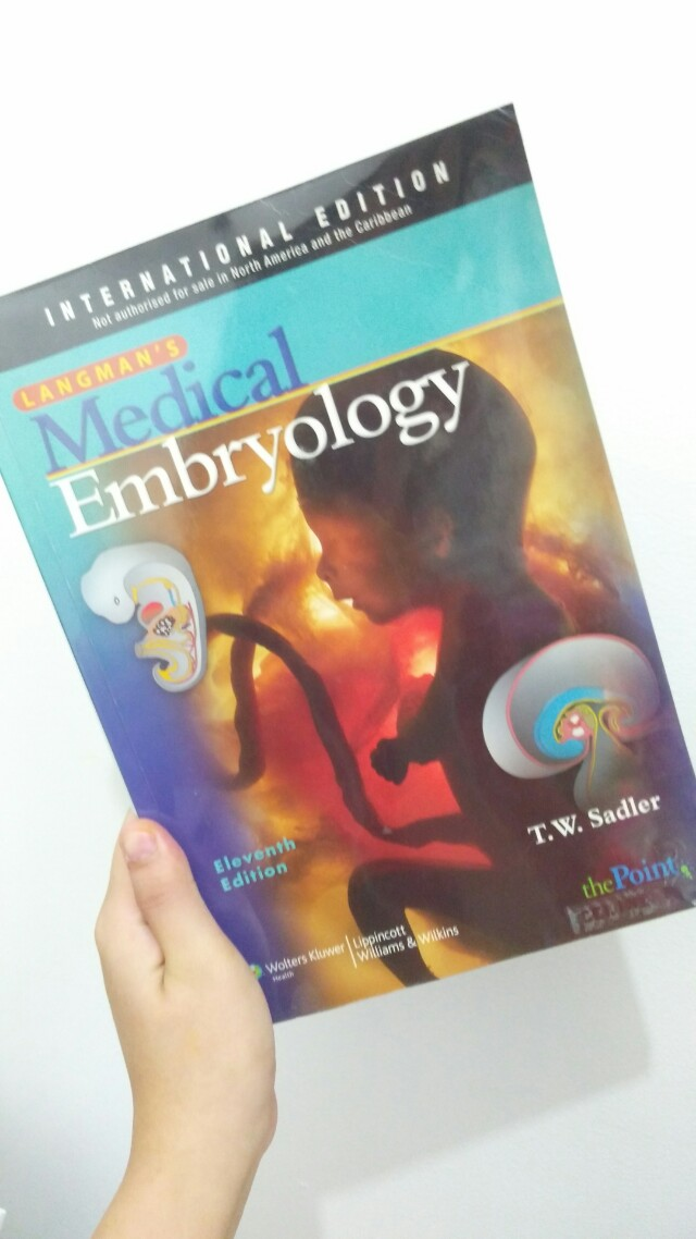 Langman's Embryology 12th Ed
