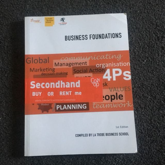 Latrobe business foundations textbook