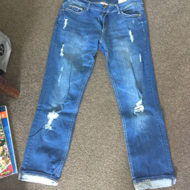 Lee cooper boyfriend jeans size 8