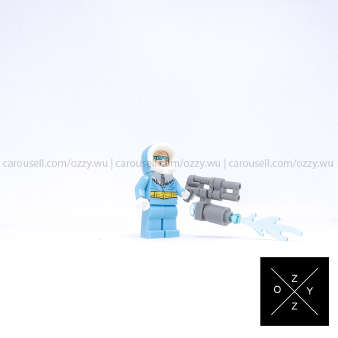 Lego compatible DC Superheroes minifigure - Captain Cold