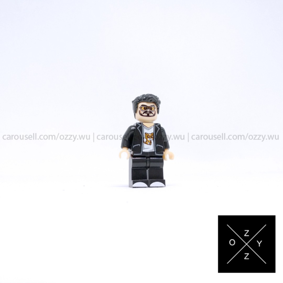 Lego compatible Marvel Superheroes minifigure - Tony Stark