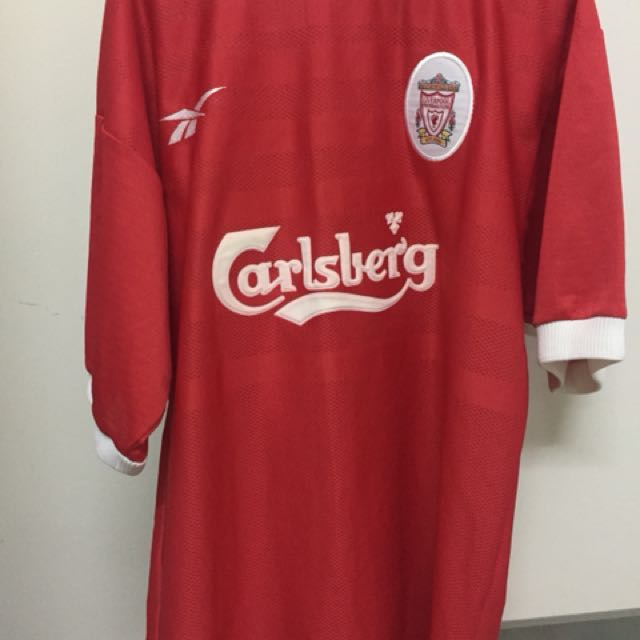 new arrival c80b7 c8c4a Liverpool 1998 Michael Owen Jersey, Sports, Sports Apparel ...