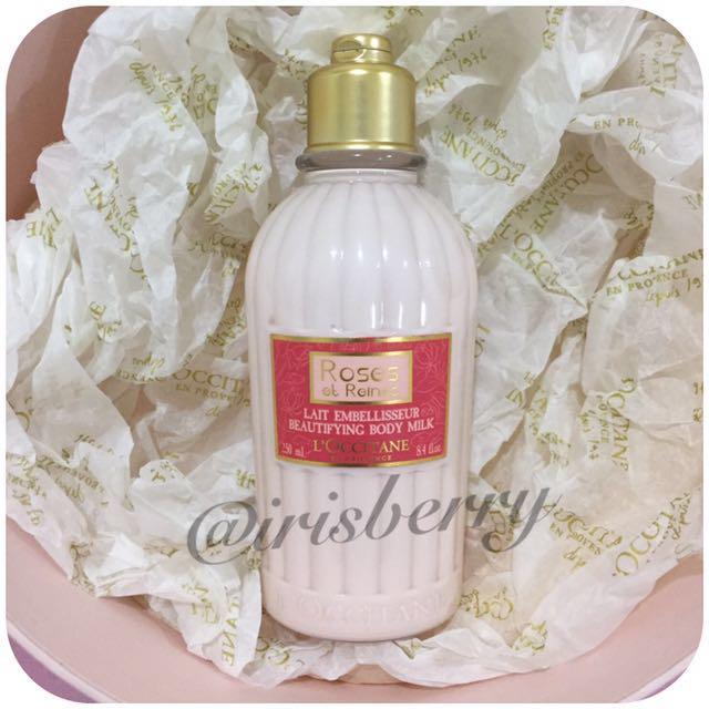 L'occitane Roses et Reines Beautifying Body Milk / Lotion Loccitane