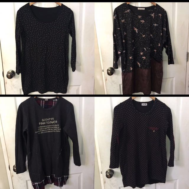 Long Blouse/Pullover/Sweater