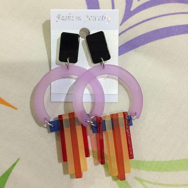 Long Earrings/Anting