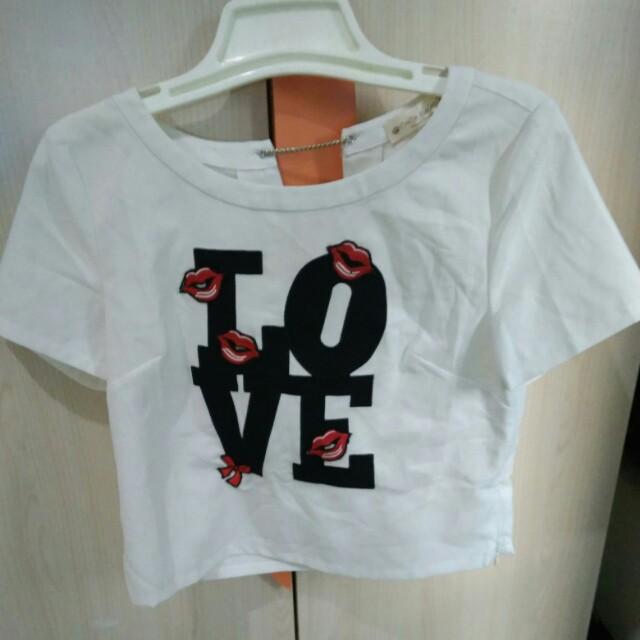 Love crop top