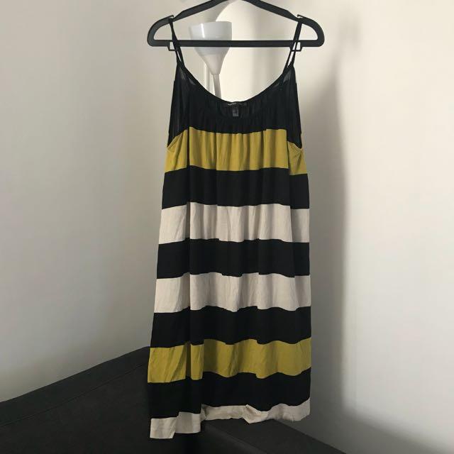 Mango Two Style Stripe Dress