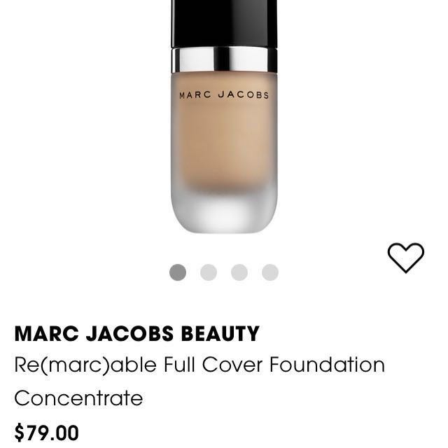 Marc Jacobs Foundation - Re(Marc)able Full coverage foundation