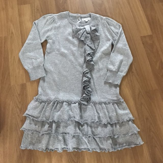 Marks & Spencer Girls Party dress size 5-6 yrs old, Babies & Kids ...