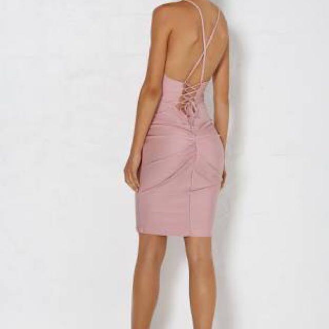 Meshki Esma Blush Dress SZ6