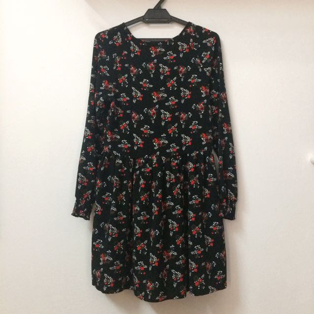 Monki Floral Blouse