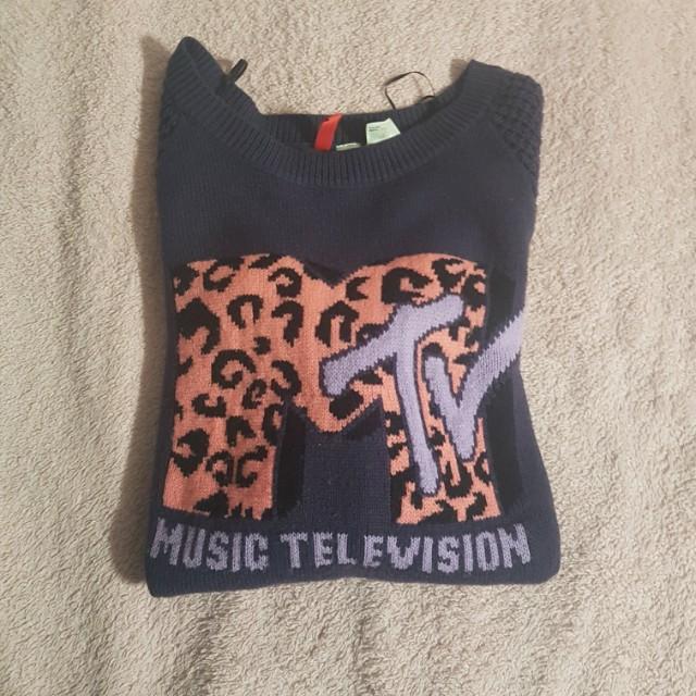 MTV Knit Sweater